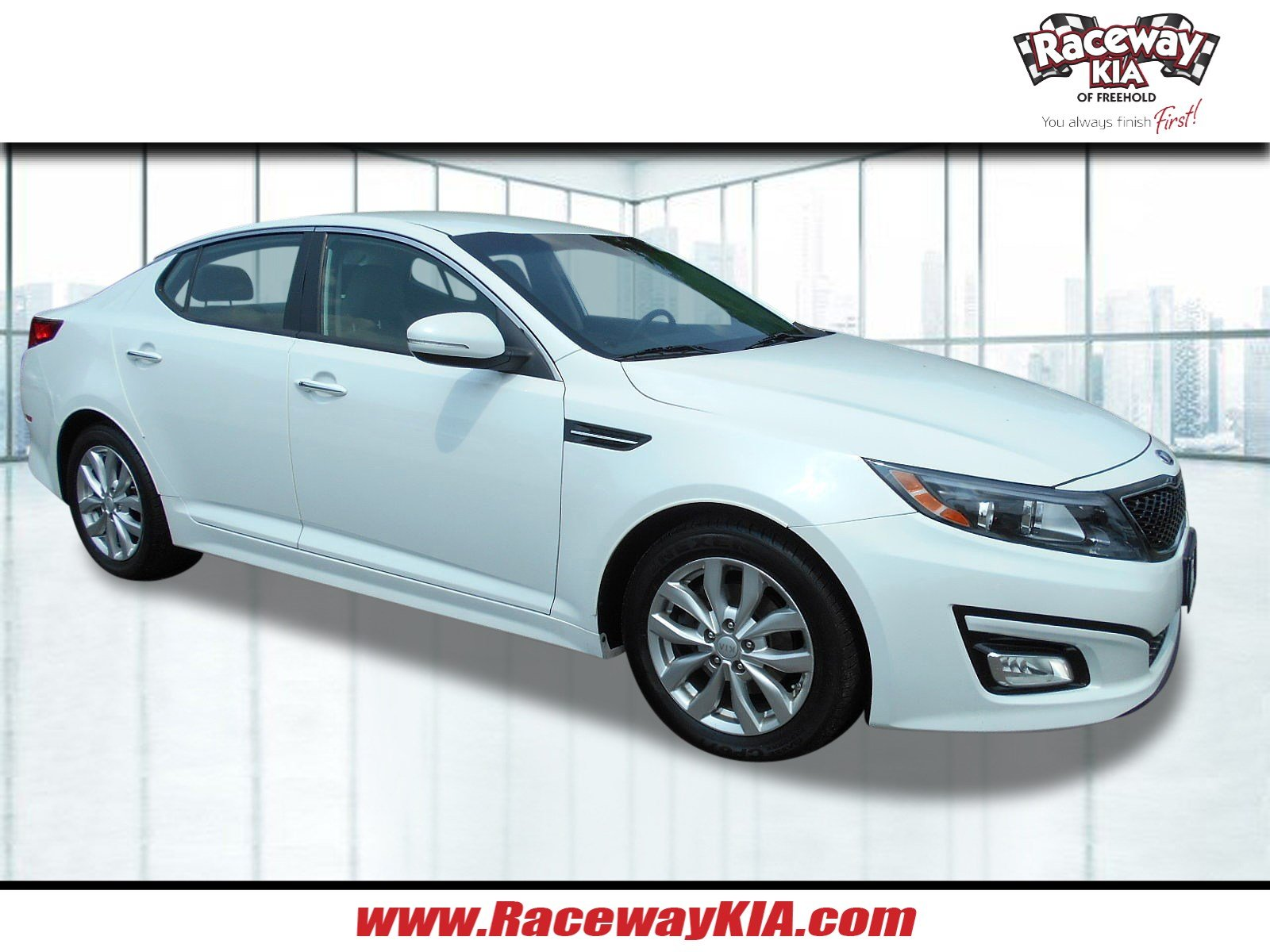 Certified Pre Owned 2015 Kia Optima Ex 4dr Car In Freehold Rio Remote Starter