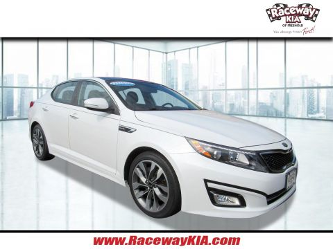 Certified Pre-Owned 2015 Kia Optima SX Turbo FWD 4dr Car