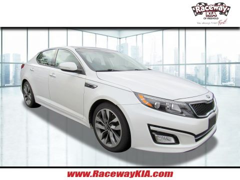 Certified Pre-Owned 2015 Kia Optima SX Turbo