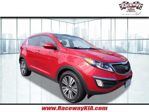 Certified Pre-Owned 2015 Kia Sportage EX With Navigation & AWD